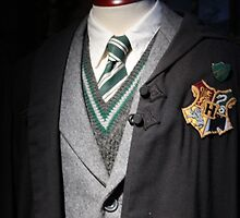 Slytherin uniform by HeloiseDiez