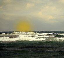 Soft Spring Sundown by RC deWinter