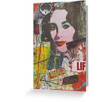 Looking for life Greeting Card
