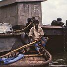 Buriganga Boatman by Werner Padarin