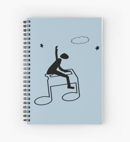 My Concept Of Music Spiral Notebook