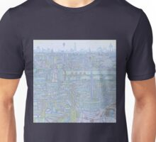 THE MEGATROPOLIS (cool hues) Unisex T-Shirt