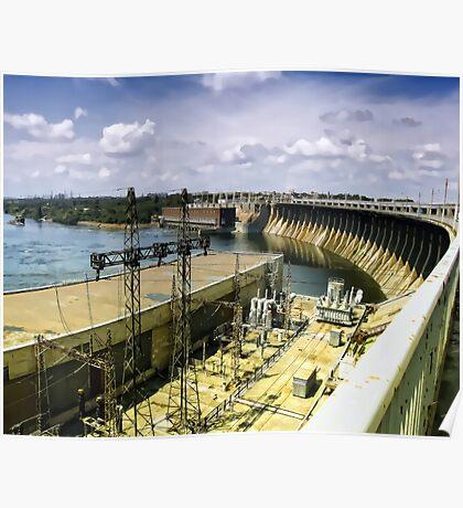 Ukrainian hydroenergetics. Poster
