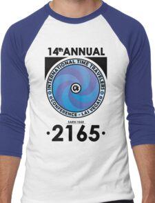 The Time Traveler's Conference 2165 Men's Baseball ¾ T-Shirt