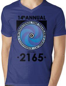 The Time Traveler's Conference 2165 Mens V-Neck T-Shirt