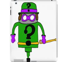 Riddle Me This iPad Case/Skin