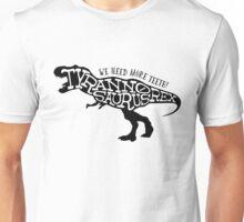 Stencil: Tyrannosaurus Rex Unisex T-Shirt