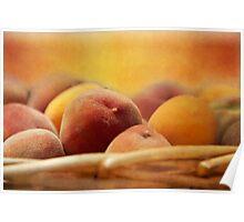 Fuzzy Peach Poster