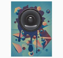 Abstract Audio Speaker Kids Clothes