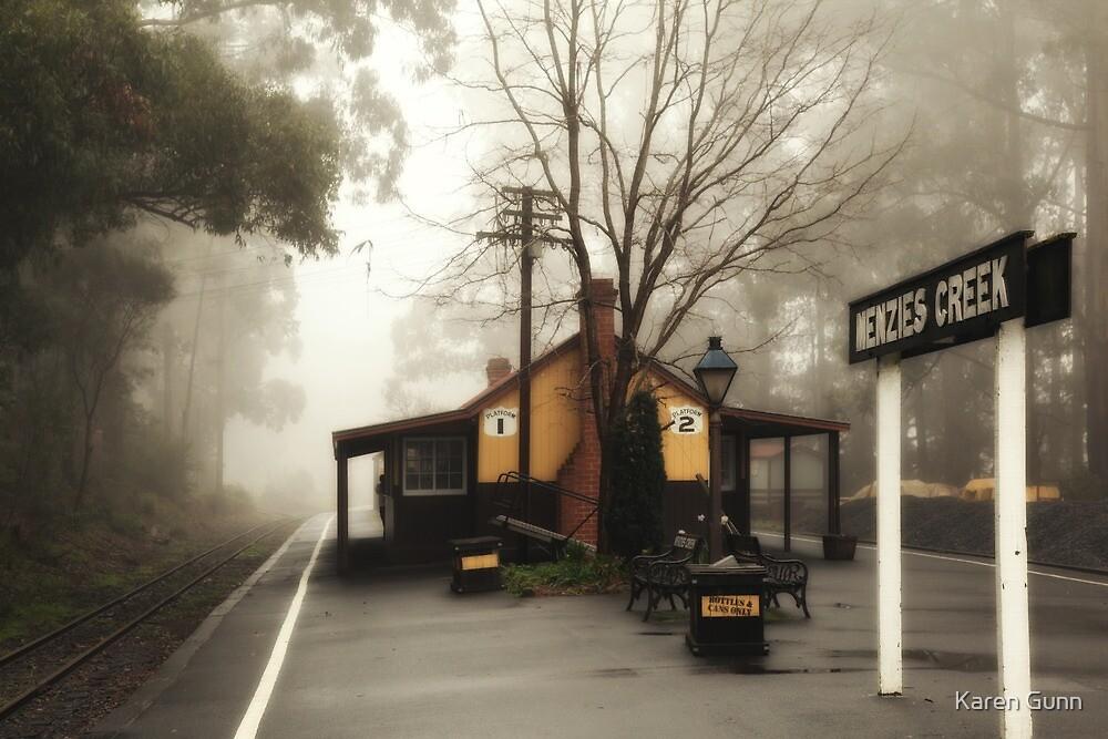Menzies Creek Station by Karen Gunn