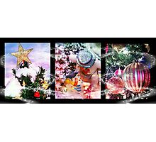Christmas Trio Photographic Print