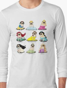Pug Princesses Long Sleeve T-Shirt