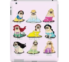 Pug Princesses iPad Case/Skin