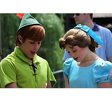 Peter Pan & Wendy Photographic Print