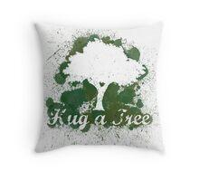 Hug a tree Throw Pillow