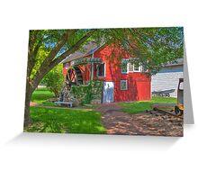 Krug Village Grist Mill Greeting Card