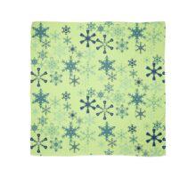 Winter frozen fractals snowflakes  Scarf