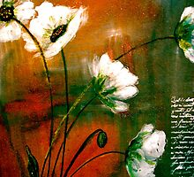 The Poppy Journals...Gold Dust by ©Janis Zroback