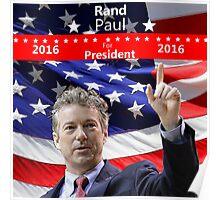 Rand Paul for President 2016 Poster