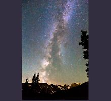 Rocky Mountain Milky Way and Falling Star T-Shirt