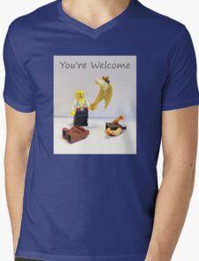 You're welcome Mens V-Neck T-Shirt