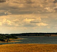 Rutland Water 1 by David J Knight