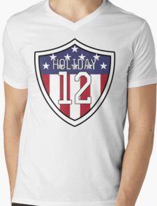 Lauren Holiday #12 | USWNT Mens V-Neck T-Shirt