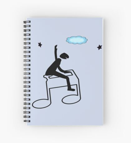 Music for Kids Spiral Notebook
