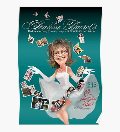 Dianne's Retirement Poster