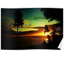 Sound sunrise Poster