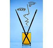 Cocktails with Picasso - Print Photographic Print