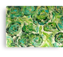 Floating Around Canvas Print