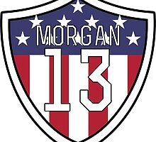 Alex Morgan #13 | USWNT by dysfnctnlysane