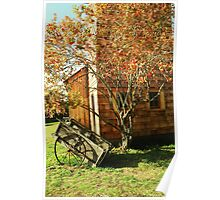 Johnson Farm in the Fall Poster