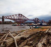 Forth Rail Bridge by John Corson Photography