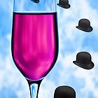 Cocktails with Magritte - Print by Mark Podger