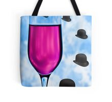 Cocktails with Magritte - Print Tote Bag