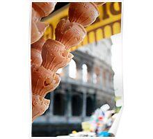 Ice Cream in Roma Poster