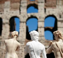 Colloseum and David  by Annika Schowalter