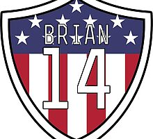 Morgan Brian #14 | USWNT by dysfnctnlysane