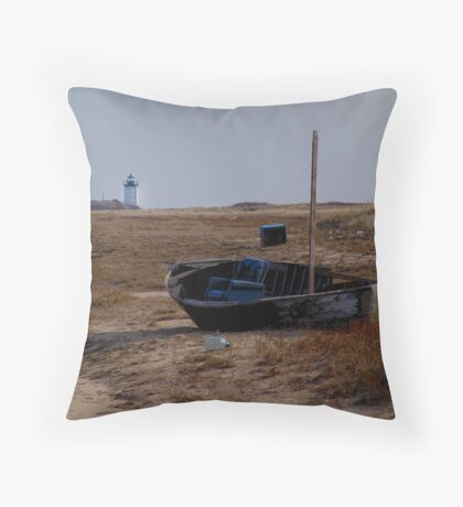 The captains chair Throw Pillow
