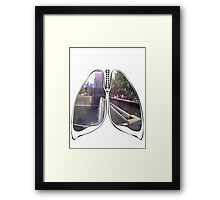 Lungs - WTC Memorial  Framed Print