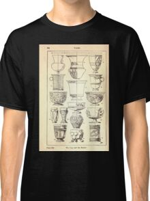 A Handbook Of Ornament With Three Hundred Plates Franz Sales Meyer 1896 0360 Vases Cup Beaker Classic T-Shirt