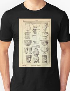 A Handbook Of Ornament With Three Hundred Plates Franz Sales Meyer 1896 0360 Vases Cup Beaker T-Shirt