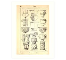 A Handbook Of Ornament With Three Hundred Plates Franz Sales Meyer 1896 0360 Vases Cup Beaker Art Print