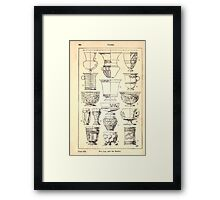A Handbook Of Ornament With Three Hundred Plates Franz Sales Meyer 1896 0360 Vases Cup Beaker Framed Print