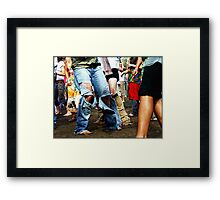 Dancing Feets //  Akasha 2007 Framed Print