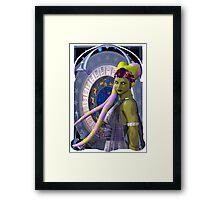 Mucha Zodiac Twi'lek Framed Print