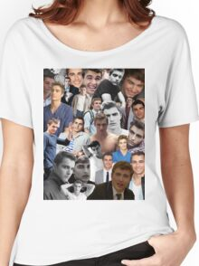 Dave Franco Collage Women's Relaxed Fit T-Shirt