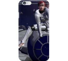 Imperial Tie Fighter (Pinup 1) iPhone Case/Skin